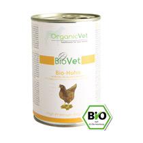Bio-Huhn mit Bio-Reis, Bio-Zucchini & Bio-Kürbis 6 x 400g
