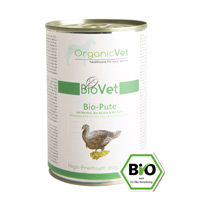Bio-Pute mit Bio-Reis, Bio-Karotte & Bio-Apfel 6 x 400g