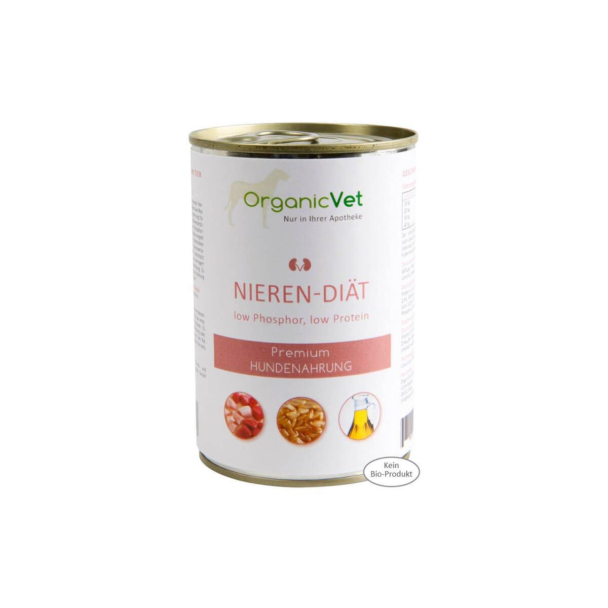 OrganicVet - NIEREN-DIÄT 6 x 400 g - null