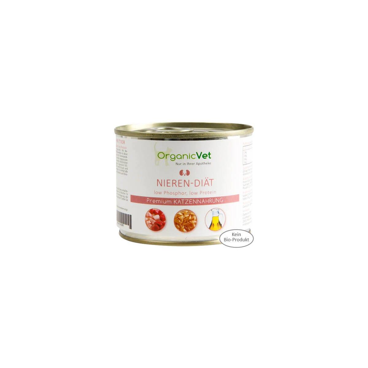 Organicvet Nieren Diat 6 X 200g Null